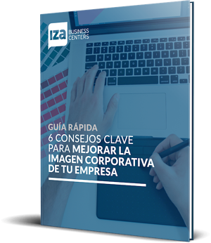 Mockup - eBook - IZA BC - 6 consejos para mejorar tu imagen corporativa