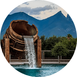 Monterrey-círculo